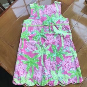 Girls Lilly Pulitzer shift dress VINTAGE